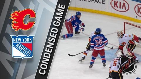 02/09/18 Condensed Game: Flames @ Rangers