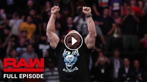 WWE Raw Full Episode, 9 September 2019