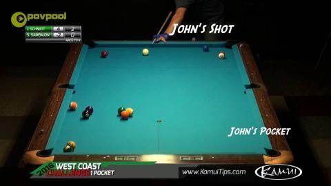 John Schmidt - Great One Pocket Shot / July 2016