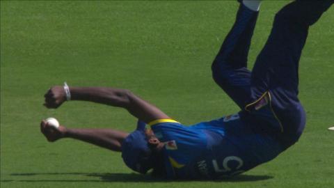 South Africa vs Sri Lanka - 2nd T20 - JJ Smuts Wicket