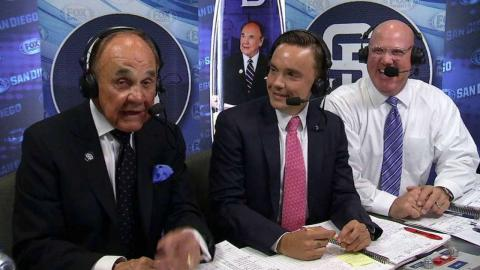 LAD@SD: Ted Enberg joins his father in the booth
