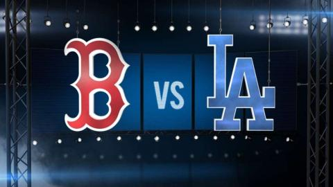 8/6/16: Dodgers blank Red Sox to level series