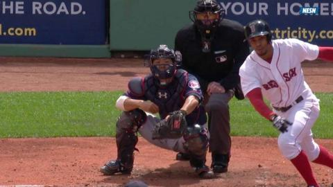 MIN@BOS: Bogaerts drives in a pair to extend lead