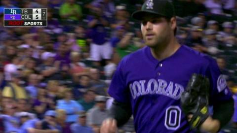 TB@COL: Ottavino retires Kiermaier to end the threat