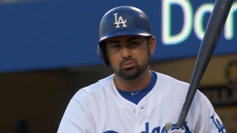 SD@LAD: Perdomo strikes out Gonzalez to end the frame