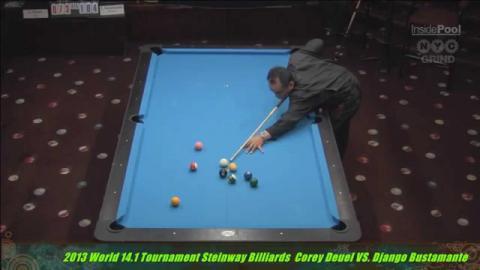 World 14.1 Corey Deuel vs Fransisco Bustamante