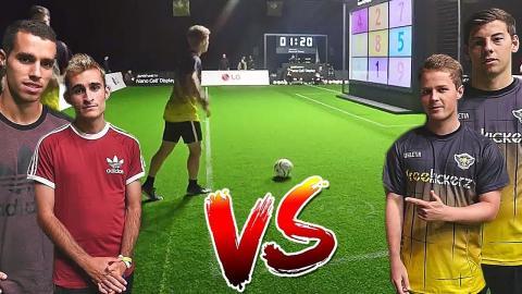 freekickerz vs Delantero09 - Nano Cell Football Challenge