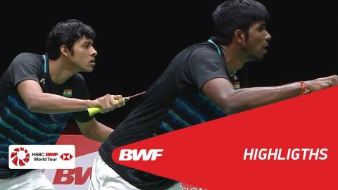 DAIHATSU Indonesia Masters 2018 | Badminton MD - QF - Highlights | BWF 2018