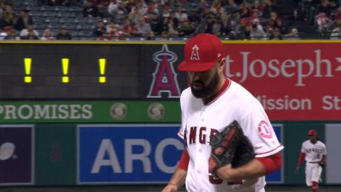 CWS@LAA: Shoemaker fans season-high nine batters