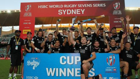 BEST BITS: Tries and tackles from the HSBC 7s
