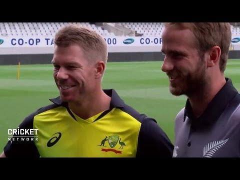 Warner on playing darts with NZ skipper
