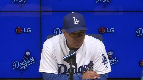 NYM@LAD: Roberts discusses Kazmir's outing, 4-2 loss