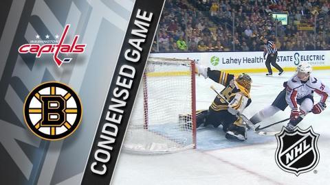 12/14/17 Condensed Game: Capitals @ Bruins