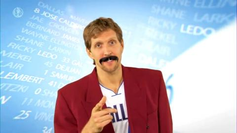 Dirk Nowitzki's Funniest Moments