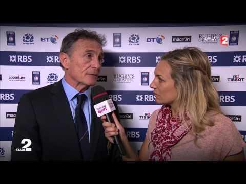 Guy Novès sur France TV après la défaite à Écosse | RBS 6 Nations