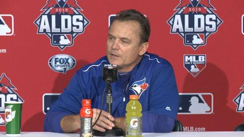 HOU@TOR Gm2: Gibbons on losing first two games