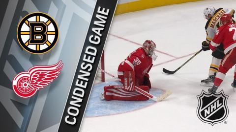 12/13/17 Condensed Game: Bruins @ Red Wings
