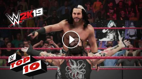 Awesome New DLC Moves: WWE 2K19 Top 10