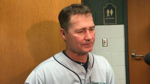 SEA@HOU: Servais on Seager since the All-Star Break