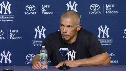 BAL@NYY: Girardi discusses the team's loss to the O's