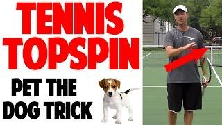 Tennis Forehand Topspin Technique | Pet The Dog (Top Speed Tennis)