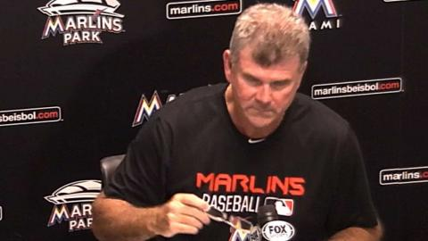 COL@MIA: Jennings on Phelps setting tone for Marlins
