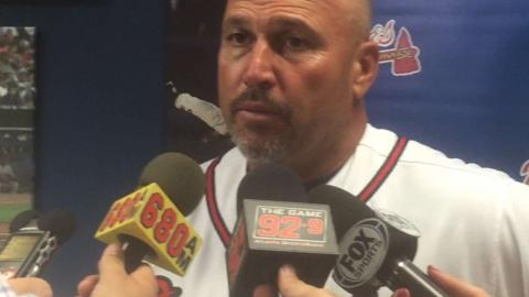 PHI@ATL: Gonzalez on Braves' resiliency, Blair