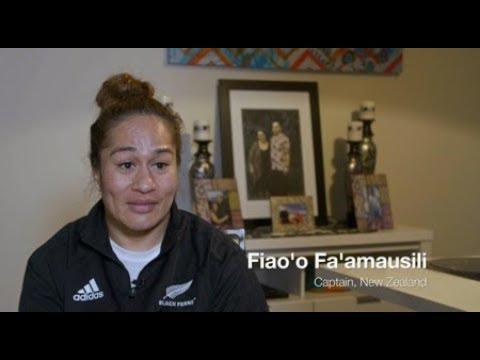 Fiao'o Fa'amausili | Black Ferns captain and Police Officer