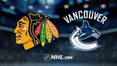 Vanek powers Canucks past Blackhawks, 5-2