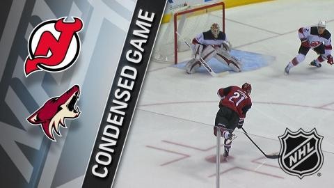 12/02/17 Condensed Game: Devils @ Coyotes