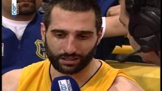 Pepsi Lebanese Basketball Championship 2014 / 2015 -Jean Abdel Nour