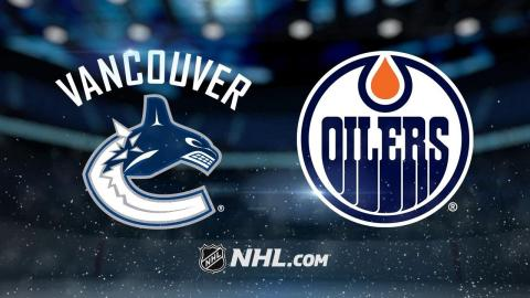 Maroon scores twice as Oilers down Canucks