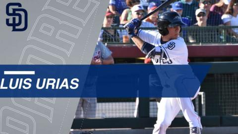 Top Prospects: Luis Urias, 2B, Padres