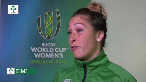 Irish Rugby TV: Eimear Considine Post Match