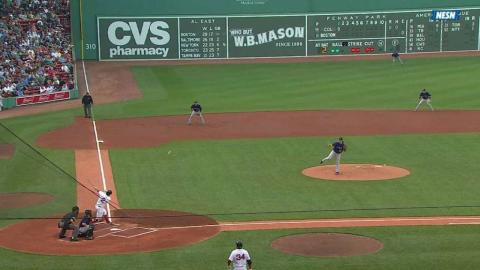 Bogaerts extends his hitting streak to 19