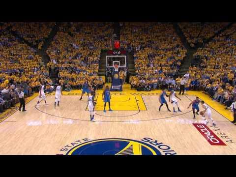 Stephen Curry Drains Six 3-Pointers in Game One of the Western Conference Finals