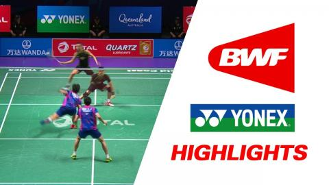 TOTAL BWF Sudirman Cup 2017 | Badminton F – CHN vs KOR – Highlights