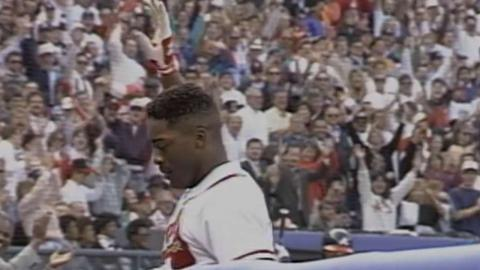 1992 NLCS Gm2: Gant's grand slam extends lead in 5th