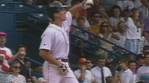 Fryman hits for the cycle in 1993