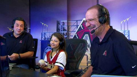 CHC@ARI: Kidcaster joins D-backs booth