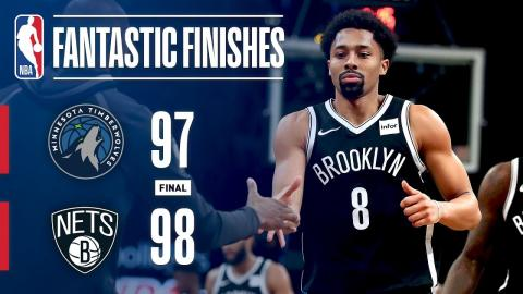 The Timberwolves and Nets Go Down to the Wire in Brooklyn | January 3, 2018