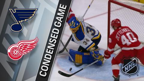 12/09/17 Condensed Game: Blues @ Red Wings