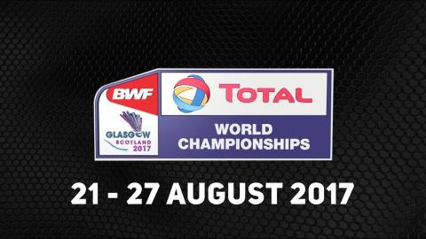 TOTAL BWF World Championships 2017 | Badminton 21-27 August | Promo V4