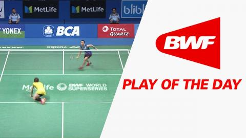 Play Of The Day | Badminton QF - BCA Indonesia Open 2017
