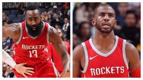 James Harden (29/5/7) and Chris Paul (17/6) Lead Rockets Past Grizzlies   November 18, 2017