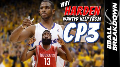 Why James Harden Wanted Chris Paul's Help On The Rockets