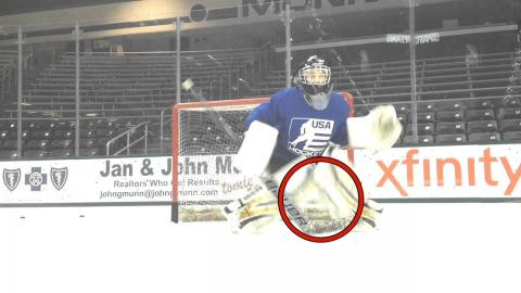 Goaltending Skill of the Month: Butterfly