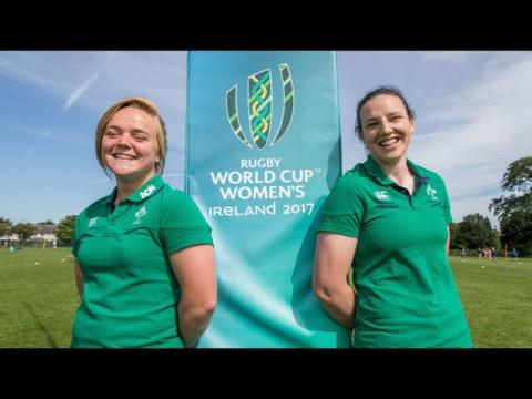 Irish Rugby TV: Women's Rugby World Cup 2017 - 50 Days To Go!