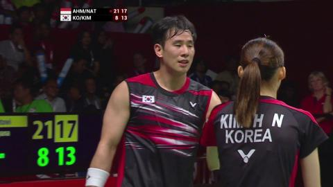 TOTAL Performance of the Day | World Championships 2015-Ahm/Nat vs Ko/Kim