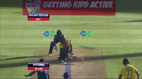 South Africa vs Sri Lanka - 3rd T20 - Jon-Jon  Smuts Wicket